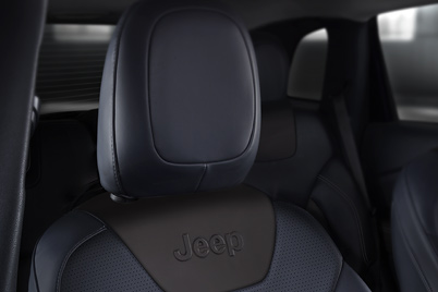 Habitacle du Jeep Cherokee – places assises