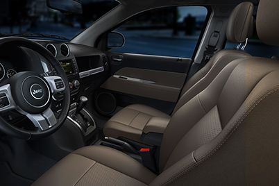 Jeep Compass - Leather-Faced Seating
