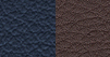 Nappa leather-faced - Indigo Blue/Jeep<sub>®</sub> Brown with Pearl accent stitching