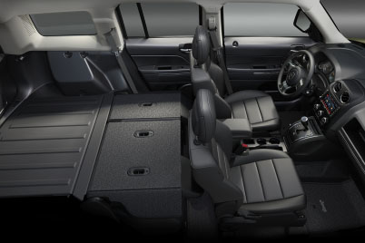 2017 Jeep Patriot Canada Best In Class Rear Seat Legroom