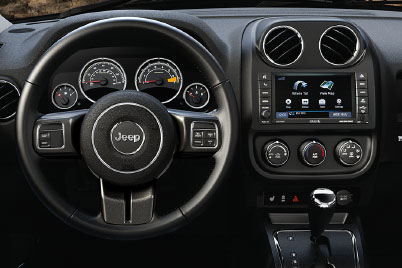 2017 Jeep Patriot Canada Steering Wheel mounted Audio and Cruise controls