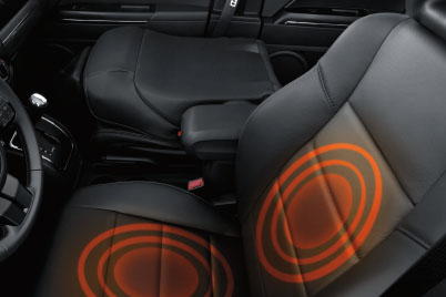 2017 Jeep Patriot Canada Heated Front Seats Back and Seat Cushions